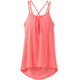 Prana W's Mika Strappy Top Summer Peach